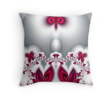 Palace of the Dancing Butterflies Throw Pillow