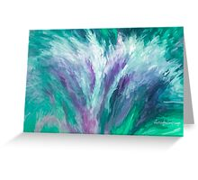 Bouquet of Love, Hope, Faith and Peace-Abstract Greeting Card