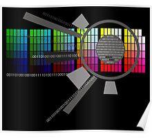 Digital Rainbow Poster