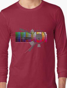 Digital Rainbow Long Sleeve T-Shirt
