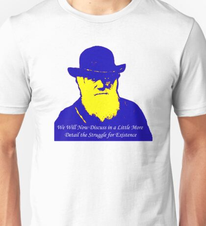 Mr Darwin Rocks! Unisex T-Shirt