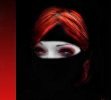 Scarlet Ninja in the night by dimarie