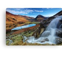 "Buttermere ""the lake by the dairy pastures"", Lake District - UK Canvas Print"