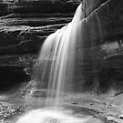 Starved Rock Waterfall by Joe Thill