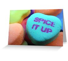 Spice It Up!! Greeting Card