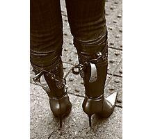 Kinky boots! Photographic Print