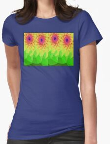 Outline Flowers T-Shirt