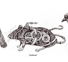 Steampunk Animals by Squidoodle