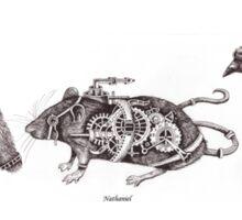 Steampunk Animals Sticker