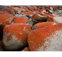 Colours and Shapes, Binalong Bay, Tasmania, Australia. Photographic Print