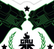 GRU GUNS Sticker