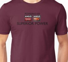 Powered By Superior Power Unisex T-Shirt