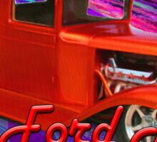 32-ford Truck Sticker