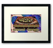 ONE of my Favorite Vegetables Framed Print