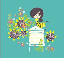 MISS BEE by Jane Newland