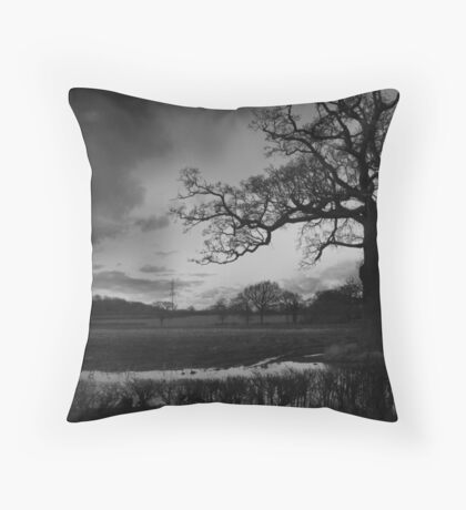 Henfield, East Sussex Throw Pillow