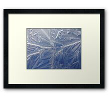 A painting by Jack Frost  (as is) Framed Print