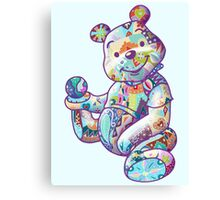 POOH - PATCHWORKS Canvas Print