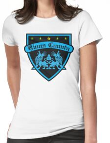 BKLYN KINGS COUNTY CREST Womens Fitted T-Shirt