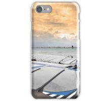 wind surfers braving the winds iPhone Case/Skin