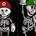 SUPER MARIO BROS SKELETON  by Alexandre Thorne