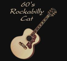60's Rockabilly Cat by shfandon
