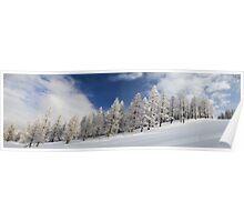 Piste Panorama Poster