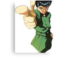 YUYU HAKUSHO - YUSUKE URAMESHI PRODUCTS Canvas Print