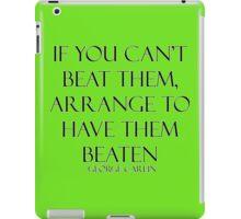 George Carlin Quote iPad Case/Skin