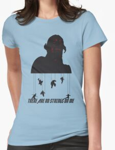No Strings On Me Womens Fitted T-Shirt