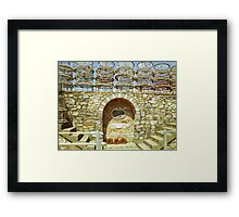 Lobster Pots #2 Framed Print