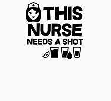 This nurse needs a shot Womens Fitted T-Shirt