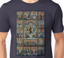 Adoration - Virgin Mary With Angels Unisex T-Shirt