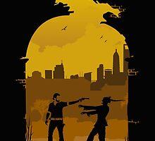 Rick Grimes War by megamona