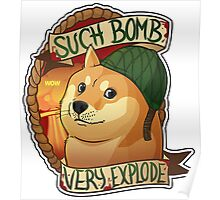 Bomb Doge (OFFICIAL) Poster