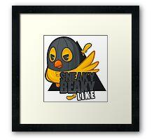 Sneaky Beaky Like (OFFICIAL) Framed Print