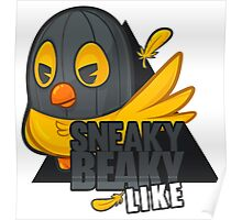 Sneaky Beaky Like (OFFICIAL) Poster