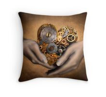 My Heart is in your Hands Throw Pillow