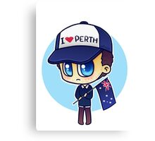 Rob (Does Not) Hate Perth Canvas Print