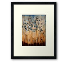 we cry - for the people - for the animals - for the land © 2009 patricia vannucci  Framed Print