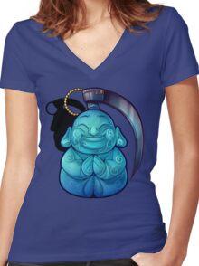 Buddha Bomb (OFFICAL) Women's Fitted V-Neck T-Shirt