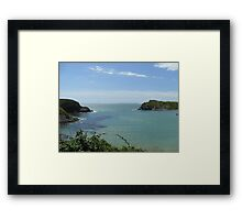 Lulworth Cove Framed Print