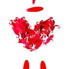 I heart u by Karyn  Kelbaugh