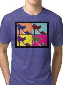 Steps Into Pop Art  Tri-blend T-Shirt