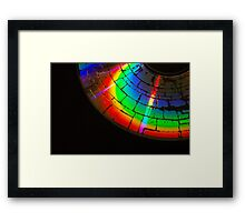 sound of colors Framed Print