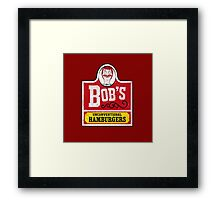 Unconventional Burgers Framed Print