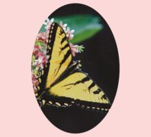 Swallowtail Butterfly and Milkweed Flowers Kids Clothes