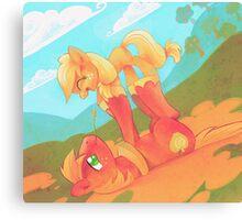 Pony Love Canvas Print