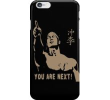 CHONG LI BOLO YOUNG BLOODSPORT YOU ARE NEXT iPhone Case/Skin