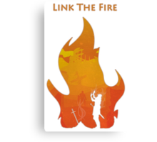 Link The Fire Canvas Print